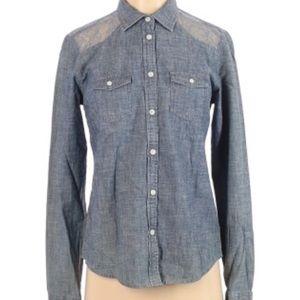 Aeo button down shirt